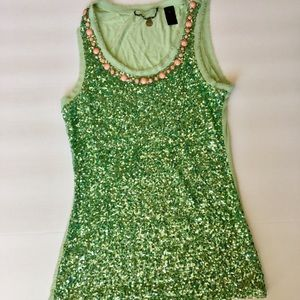 BKE Sparkly Tank Top